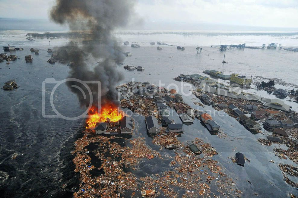 Japo: Fotos e vdeos do Tsunami - Imagens impressionantes!